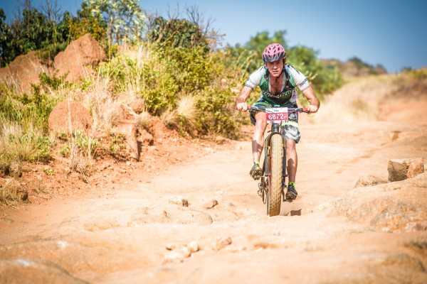 Celebrating its 14th anniversary at the ATKV in Buffelspoort on Saturday, 21 May 2016 the revered FNB Magalies Monster Mountain Bike (MTB) Classic will treat riders to a new and improved Monster Climb.  Seen here:  Guy Jennings   in action at the 2015 FNB Magalies Monster Mountain Bike (MTB) Classic.  Photo Credit:  Tobias Ginsberg