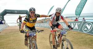 The long-time friend pairing of Mike Church (left) and Tony Cole (right) will join the illustrious 'Black Mamba' group when they complete their tenth KAP sani2c and their ninth together when they set off from Underberg for the KZN South Coast between 12-14 May. Jetline Action Photo/ Gameplan Media