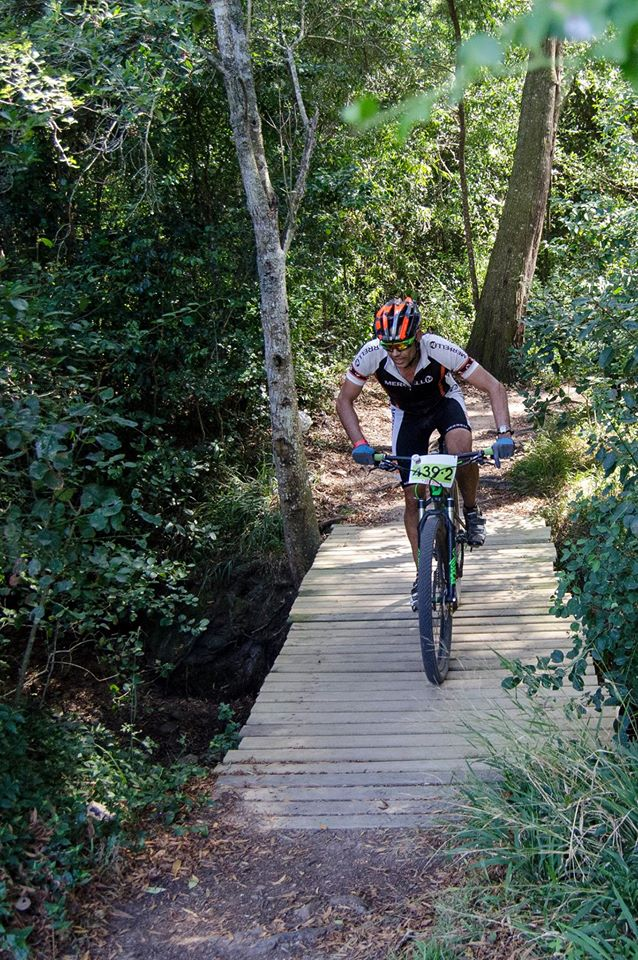 1.Expect fantastic forest singletrack in the RECM Knysna 200. Photo by Julie Anne Hoffman