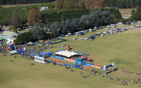 Significant investment in the start/finish area, upgrades to the Karkloof Country Club and a world class, comprehensive race village await participants of the 2016 Sappi Karkloof Classic Trail Festival, while those that opt to camp add to the event's atmosphere as well. Anthony Grote/ Gameplan Media