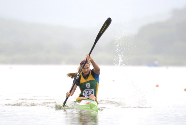 Following a disappointing season opening in Germany, South African sprint star Bridgitte Hartley will be hoping to get her Rio Olympic Games preparation back on track at this weekend's ICF Canoe Sprint World Cup in Račice, Czech Republic. Anthony Grote/ Gameplan Media