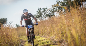 Pieter Seyffert was the rider to beat in the men's 70km FNB Magalies Monster MTB Classic at the ATKV in Buffelspoort on Saturday, 21 May 2016.  Seyffert claimed gold in an impressive time of 03 hours 26 minutes 31 seconds.  Seen here:  Pieter Seyffert in action on the day.  Photo Credit:  Tobias Ginsberg