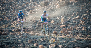 Reigning women's champion Robyn De Groot has set her sights on a problem free day on the bike and hopefully a second victory at the FNB Magalies Monster MTB Classic that will take place at the ATKV in Buffelspoort this coming Saturday, 21 May 2016.  Seen here:  De Groot in action at the 2015 FNB Magalies Monster MTB Classic.  Photo Credit:  Tobias Ginsberg