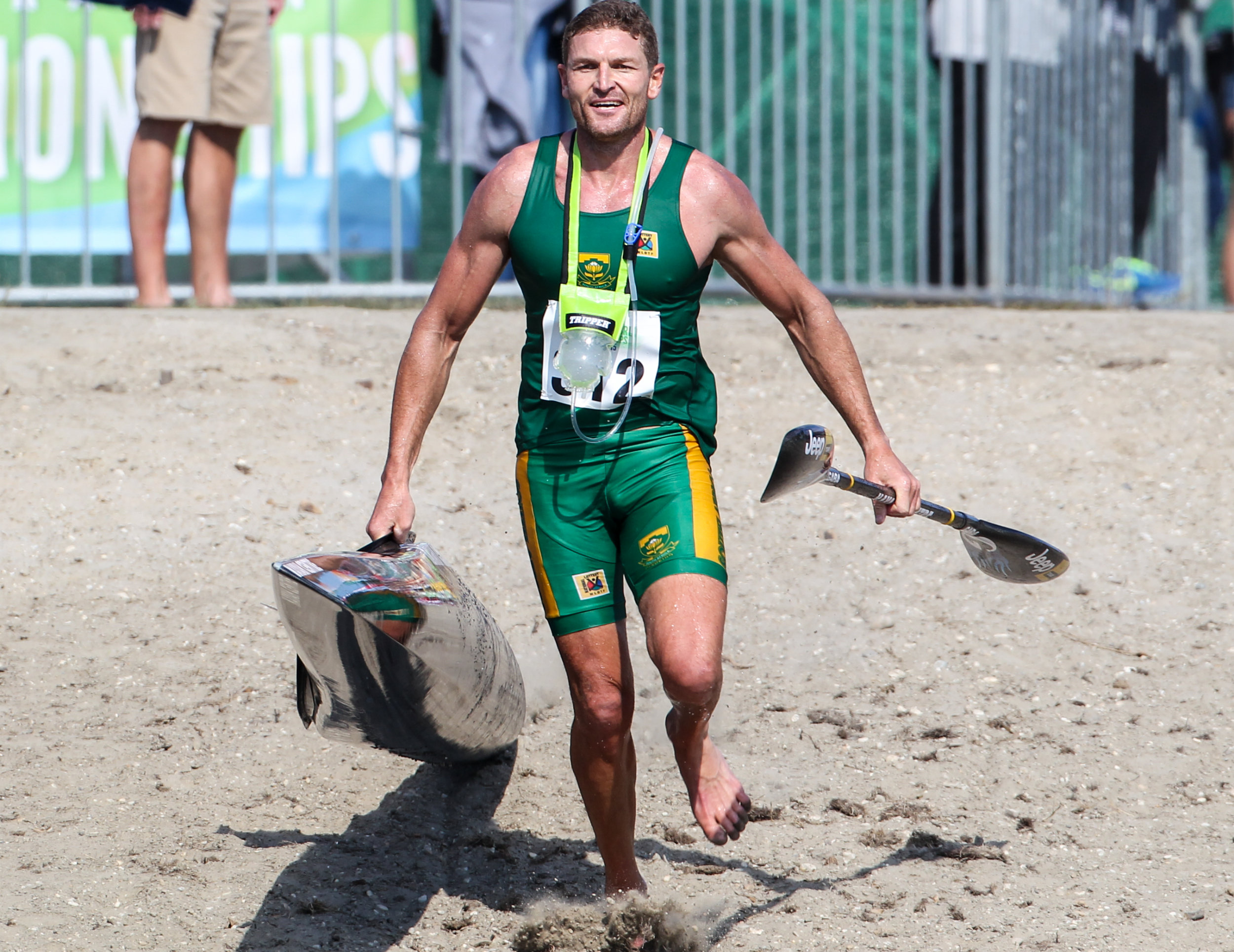 Current Marathon World Champion, Hank McGregor (Euro Steel/Kayak Centre) hopes to secure a top two finish at the 2016 South African Marathon Championships sponsored by Prescient at Zandvlei, Cape Town this Saturday in a bid to qualify for this year's World Champs and a shot at defending his global crown. Balint Vekassy/ Gameplan Media