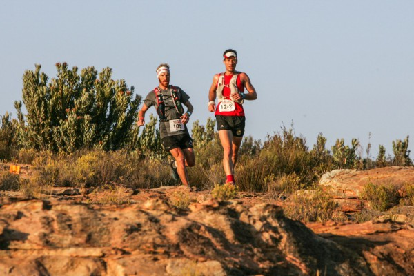 3.AJ Caltiz and Christiaan Greyling sweeping across the Tankwa Trails. Photo by: Oakpics.com