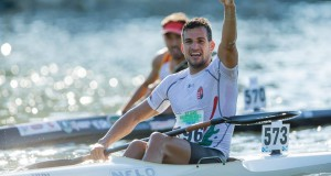 Hungarian K2 world champ Adrian Boros has added his name to the entry for the 2016 Berg River Canoe Marathon. Supplied/ Gameplan Media