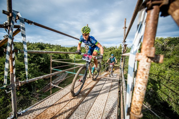 Durbanite Andrew Hill (pictured here) will join forces with Paarl's Adriaan Louw in a bid to regain the title in the PwC Great Zuurberg Trek mountain bike race. Photo: Zoon Cronje