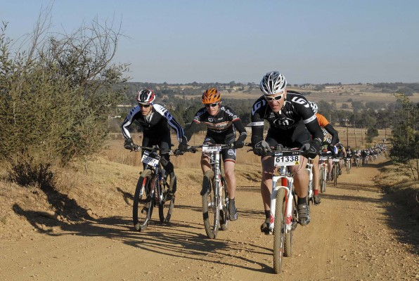 Participants in the Bestmed Sondela MTB Classic will tackle a new route in the event's 60km feature race on Sunday. Photo: Jetline Action Photo.