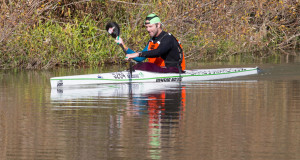 Bamboo Warehouse/Knysna Racing's Graeme Solomon hopes to mix it up with some of the best in the business when he joins the men's field's stellar top ten at this year's Berg River Canoe Marathon. John Hishin/ Gameplan Media
