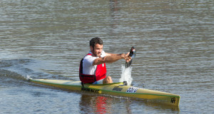 Having missed out on the 2015 edition of the race Simon van Gysen returned with a positive second place at the opening time trial of the 2016 Berg River Canoe Marathon on Tuesday, 12 July. John Hishin/ Gameplan Media