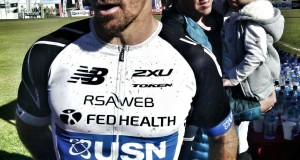 Stellenbosch-based professional triathlete, Stuart Marais