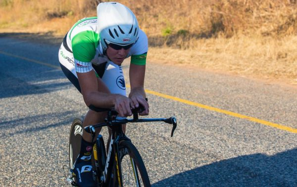 ProTouch's JC Nel won the opening stage of the Bestmed Jock Tour today. Photo: Memories4U Photography