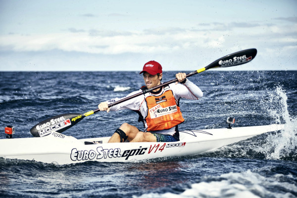 Jasper Mocké (Euro Steel/Epic Kayaks) will be hunting a second title in the Investec Mauritius Ocean Classic on Saturday. Matt Moon/ Gameplan Media