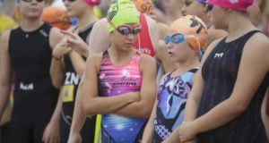 Tinman Series Triathlon, Suncoast Beach, Durban, KwaZulu-Natal, 17th April 2016.