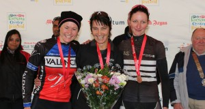 Ladies Elite winners L2R Sanders - de Villiers - Buchacher