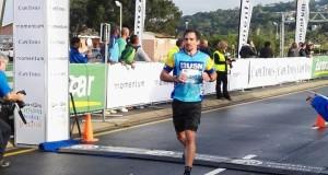 Stuart Marais crosses first