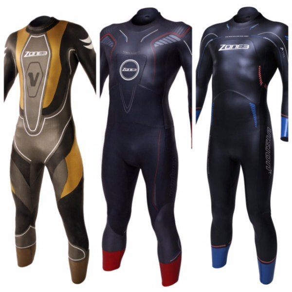 The Zone3 Victory, Vision and Vanquish wetsuit