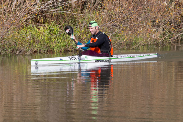Bamboo Warehouse/Knysna Racing's Graeme Solomon will hope to notch up his fifth Breede River Canoe Marathon title when he and Knysna Racing/Merrell's Greg Louw team up for the Robertson to Swellendam clash on 3 and 4 September. John Hishin/ Gameplan Media