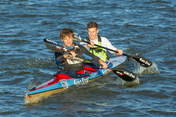 The Euro Steel team mates Jasper Mocké (left) and Stu MacLaren have teamed up for the 2016 Breede River Canoe Marathon on 3 and 4 September. John Hishin/ Gameplan Media