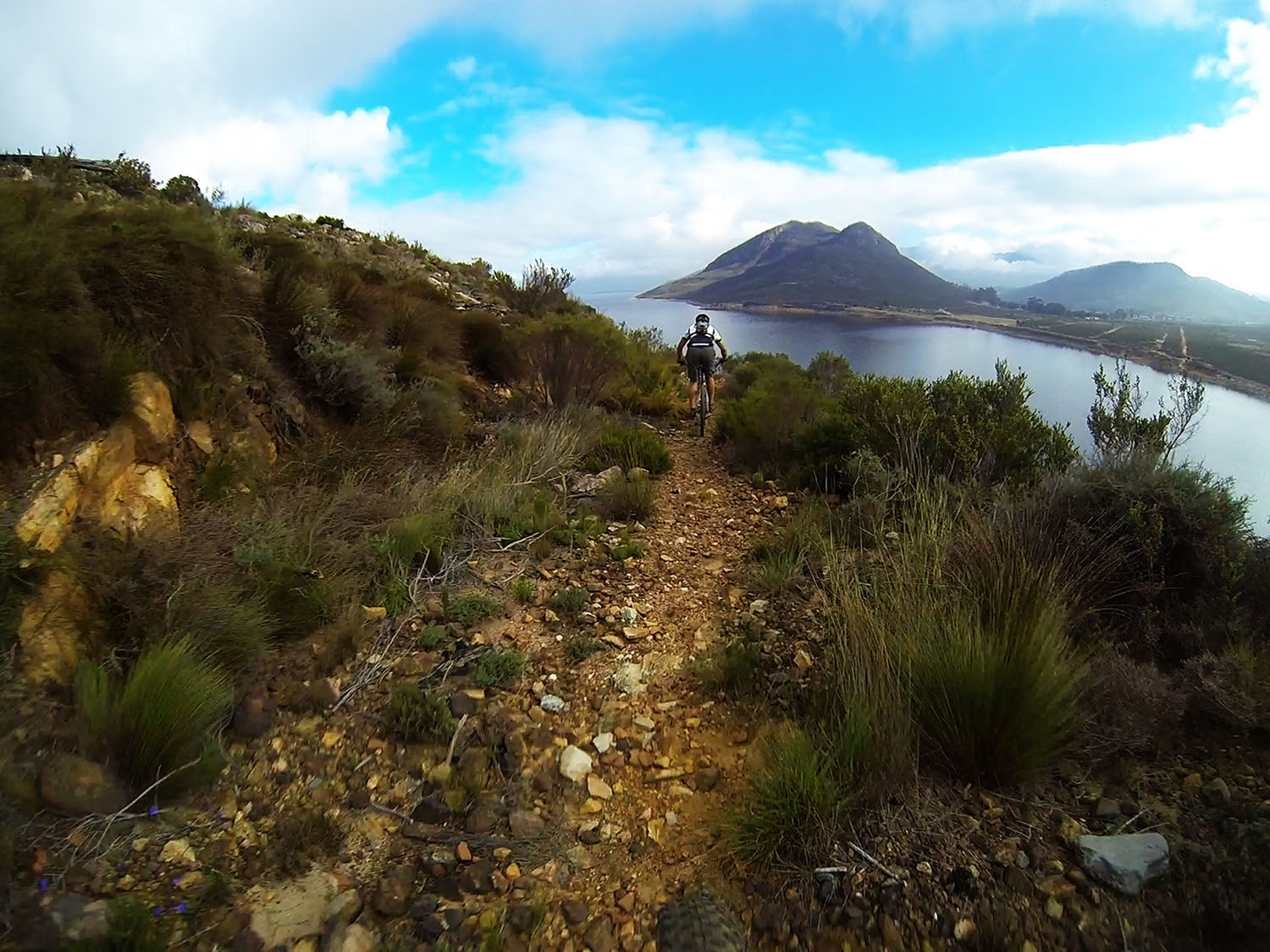 The Paarl region has become the mecca of mountain biking for many riders. Photo: Supplied