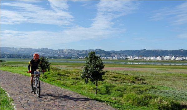The Knysna Bull will showcase the best of Knysna's mountain biking including a thrilling urban lagoon-side prologue, on Thesen Island. Photo by Julie Ann Hoffman.