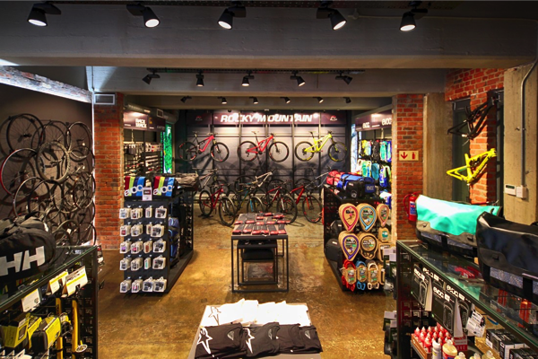 Easy-to-navigate layout and tactical lighting enhance the retail experience at THIS WAY OUT Cape Town.