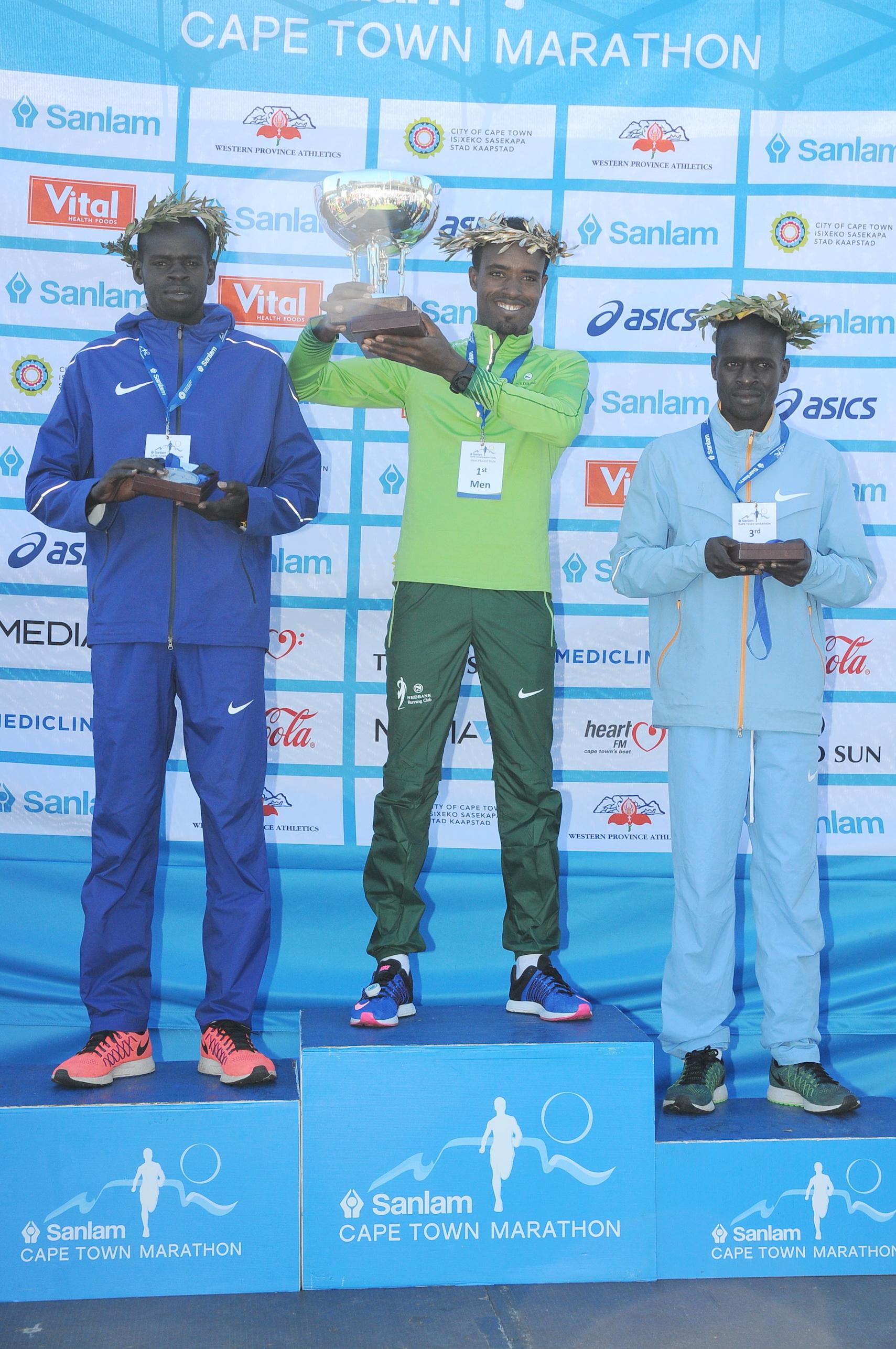 TOP3 – Top 3 Men of Sanlam Cape Town Marathon 2016 42.2km event