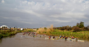 The picturesque Karoo small town of Cradock and surrounds is set to welcome hoards of enthusiastic paddlers and their families for the 2016 Hansa Fish River Canoe Marathon on Friday and Saturday. Kassie Karsten/ Gameplan Media