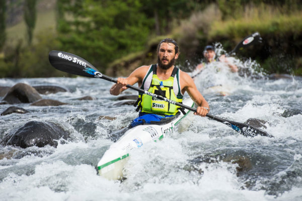 Euro Steel's Andy Birkett will be a strong contender in the star-studded men's field at the 2016 Hansa Fish River Canoe Marathon on Friday and Saturday. Anthony Grote/ Gameplan Media
