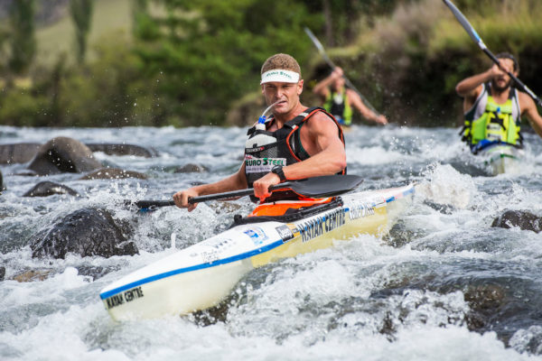 Euro Steel/Kayak Centre's Hank McGregor is eager to challenge for a seventh title at the 2016 Hansa Fish River Canoe Marathon on Friday and Saturday. Anthony Grote/ Gameplan Media