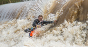 Despite having the attention of Andy Brikett throughout the race Euro Steel/Kayak Centre's Hank McGregor was too strong as he paddled to his record-equaling seventh title after the second and final day of the 2016 Hansa Fish River Canoe Marathon on Saturday. Anthony Grote/ Gameplan Media