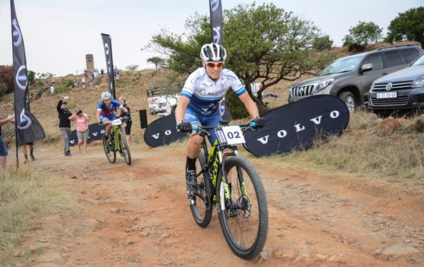 Robyn de Groot soars to the top of Spioenkop at the Volvo Summit during the 2016 Grindrod Bank Berg & Bush in KwaZulu-Natal. The 1.4km race within a race was worth R20 000 for the winning male and female rider. De Groot reached the top in a time of six minutes and 10 seconds.