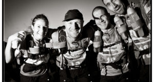Adventure racing athletes take part in the Expedition Africa 2011 adventure race in the southern Cape region, near Hermanus, Western Cape, South Africa, RSA