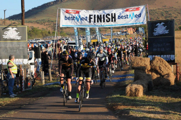 Improved infrastructure at the start and finish area will improve the experience for riders in the Bestmed Satellite Classic near Hartbeestpoort Dam on October 22. Photo: Supplied