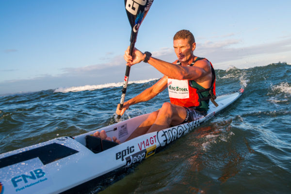 Despite his great form, Euro Steel/Epic Kayak's Hank McGregor has battled to stake a claim to a national surfski title however he will look to set that record straight at the upcoming South African Surfski Championships taking place at the Pete Marlin Surfski Race this weekend. Anthony Grote/ Gameplan Media