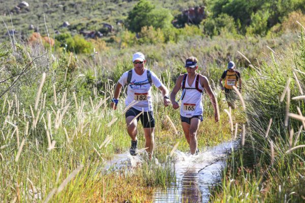 3.Despite the mid-summer race date, and the Klein Karoo race start, splashing through streams is a likelihood during the Attakwas Trail. photos by Oakpics.com