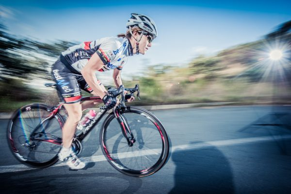 South African cycling ace An-Li Kachelhoffer will take up a one-year contract with Team Bestmed, starting in January. Photo: Supplied