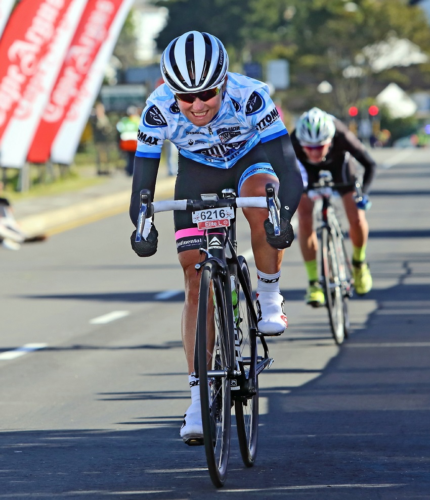 Port Elizabeth's former champion Anriette Schoeman will turn out for Team Bestmed-ASG at the 947 Cycle Challenge in Johannesburg on Sunday. Photo: Supplied