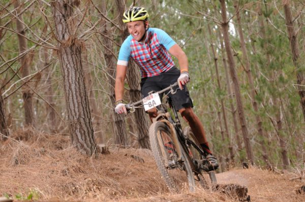 Taking place on Saturday, 03 and Sunday, 04 December 2016, the 4th annual Pennypinchers Origin Of Trails has attracted the attention of a number of sporting celebrities both local and from abroad.  Sporting celebrities to look out for on the day will include:  Newlyweds, Christoph and Andrea Sauser, reigning FNB W2W MTB Women's Team Champions, Robyn De Groot and Jennie Stenerhag and SA Rally Driver, Ashley Haigh-Smith.  Seen here:  SA Rally Driver, Ashley Haigh-Smith in action during the 2016 FNB W2W MTB Race.  Photo Credit:  Jetline Action Photo