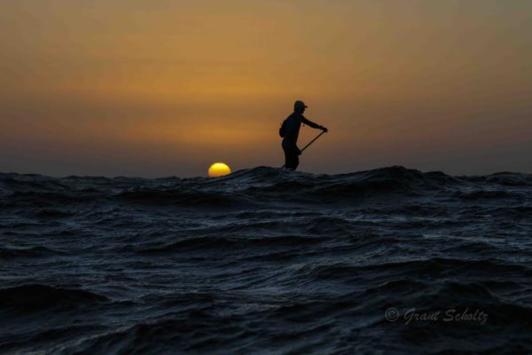Chris Bertish set to embark on his first ever solo, full length, Transatlantic Sup Crossing in the next few weeks