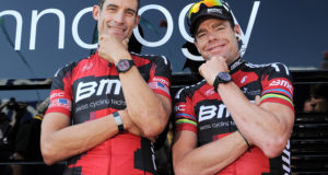 Cycling : 98th Tour de France 2011 / Stage 1 Cadel EVANS (Aus)/ George HINCAPIE (Usa)/ Team BMC Racing Watch Horloge Uurwerk /  Passage Du Gois - Mont Des Alouettes (191,5 Km)/ Ronde van Frankrijk / TDF / Etape Rit/(c)Tim De Waele