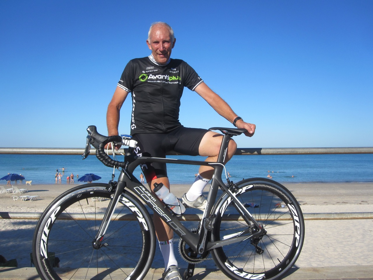 Legendary commentator Phil Liggett will be honoured with the Bestmed Phil Liggett Tribute Ride from Pretoria to Hoedspruit this week. Photo: Supplied