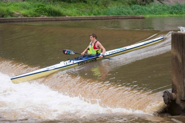 Having missed out on the previous seeding races, the likes Euro Steel's Alan Houston (pictured) will need to perform well at this weekend's Campbell's to Dusi Bridge if he is to make up the points on the guys at the front of the seeding points for the FNB Dusi Canoe Marathon. Anthony Grote/ Gameplan Media