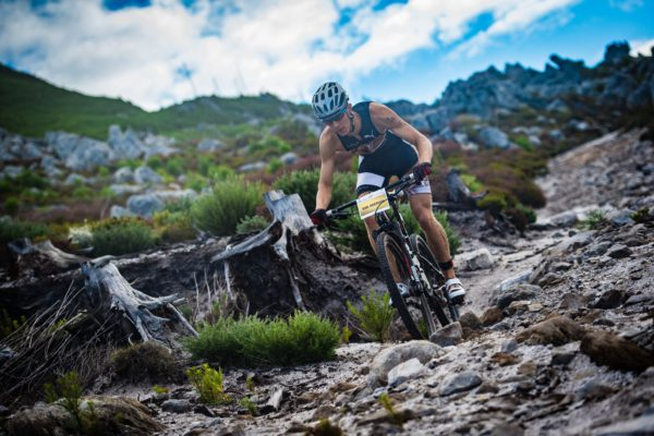 The organisers of the World's largest XTERRA off-road triathlon, the Fedhealth XTERRA Grabouw, are proud to announce that the Prize Purse for the South African Championship has been increased to a whopping R154 000.  Seen here:  Antoine van Heerden in action on the mountain bike leg of the 2016 Fedhealth XTERRA Grabouw.  Photo Credit:  Tobias Ginsberg
