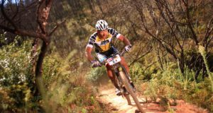 Karl Platt is in South Africa to prepare for the Bestmed Tour of Good Hope and the Cape Epic in March. Photo: Supplied