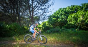Two of South Africa's elite XTERRA Warriors, Bradley Weiss and Stuart Marais will face up for the second time in the beautiful city of Port Elizabeth when they take on the Fedhealth XTERRA Nelson Mandela Bay on Saturday, 11 February 2017. Seen here:  Stuart Marais in action at the 2016 Fedhealth XTERRA Nelson Mandela Bay.  Photo Credit:  Tobias Ginsberg