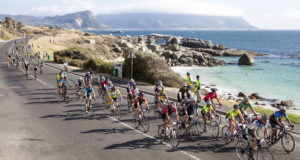 CAPE TOWN, SOUTH AFRICA - MARCH 06:  during the Cape Town Cycle Tour 2016 on Match 06, 2016 in Cape Town, South Africa. EDITOR'S NOTE: For free editorial use. Not available for sale. No commercial usage. (Photo by Sam Clark/Slingshot Media/Gallo Images)