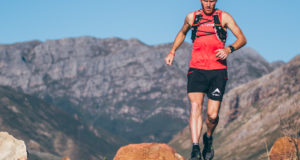 Although only signing up for 1/3 of the action, two of South Africa's elite trail runners, Megan Mackenzie and AJ Calitz will get to experience the electrifying vibe of South Africa's premier off-road triathlon, the Fedhealth XTERRA by toeing the line at the XTERRA Trail Run in Grabouw on Sunday, 26 February 2017.  Seen here:  AJ Calitz in preparation for the XTERRA Trail Run in Grabouw.  Photo Credit:  Ewald Sadie