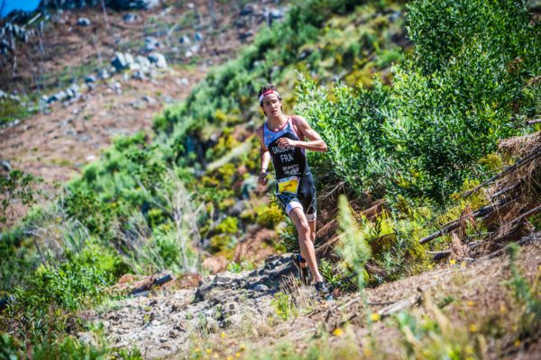 In addition to experiencing the spectacular routes on offer in Grabouw, athletes taking part in the Fedhealth XTERRA the weekend of 24 – 26 February 2017 will be pleased to hear that finding parking will also be a breeze thanks to event partner, the MTO Group.  Seen here:  Brice Daubord (France) in action during the 2016 Fedhealth XTERRA Lite in Grabouw.  Photo Credit:  Tobias Ginsberg