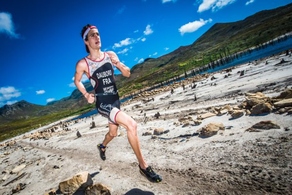 Returning to the majestic Grabouw Country Club the weekend of 24 – 26 February 2017, the Fedhealth XTERRA South African Championship has attracted the attention of a strong field of elite off-road triathletes, both locally and from abroad. Seen here:  Brice Daubord (France) in action during the 2016 Fedhealth XTERRA South African Championship.  Photo Credit:  Tobias Ginsberg